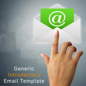 Marc Scott Voice Over Generic Marketing Email Template